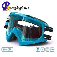 customized anti fog anti UV motorcycle eyewear