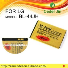 BL-44JH 3.7V dry lead acid battery for LG p700