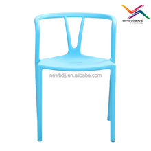 commercial use colorful plastic chair library chair food stall chair