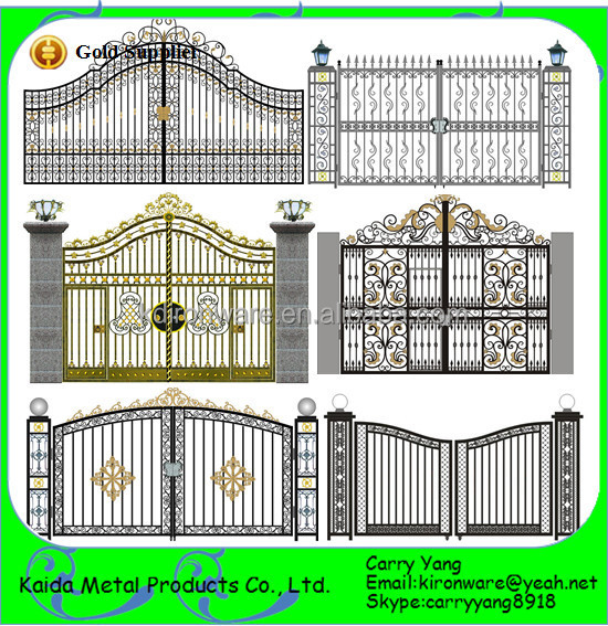New Wrought Iron Front Gate Designs Buy Gate Designs