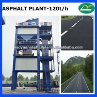 120t/h asphalt mixing plant,asphalt batch mix plant for sale