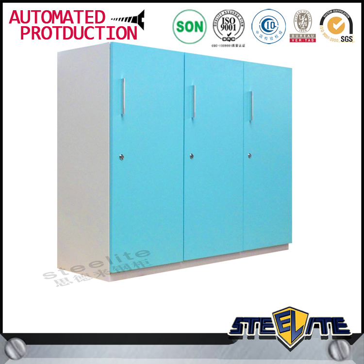 IKEA Clothes Storage Cabinets Metal 3 Door Locker