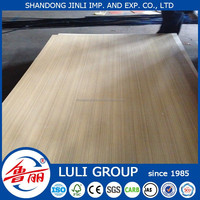 3mm laminated veneer mdf board, veneer mdf price from LULI GROUP