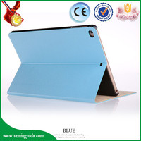China Factory Leather Flip Cover For iPad Air 2 Cover , Smart case for ipad 6 cover