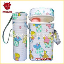 2015 novelty baby products guanzhou baby items hot food thermos containers PVC+Polyester+Foam plastic food container thermos