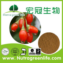 Top quality 100% natural goji berry extract powder wolfberry powder 50% polysaccharide