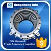 ductile iron flange reinforcement metal expansion bellows joints