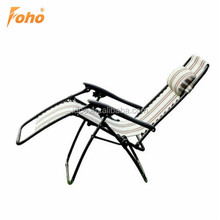 New product fabric can sleep folding beach chaise lounge for Outdoor Leisure FH-RT07