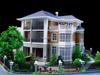 Modern house Prefabricated home with luxury interior decoration