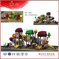 hot sell kids outdoor playground plastic slides