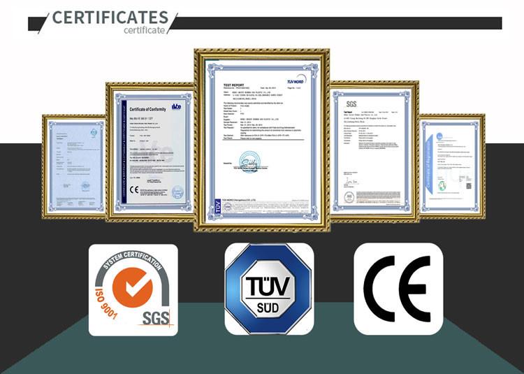 PVC-certificates