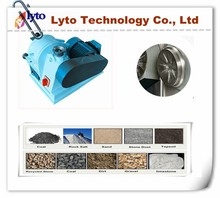 High quality two alloy disc lab roll mill for calcite, basalt, coal micro powder making