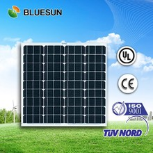 Bluesun best price UL certificate monocrystalline solar panel 50w