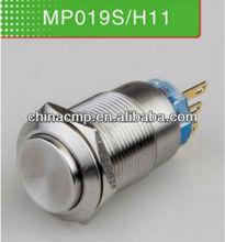 19 mm Metal solo interruptor