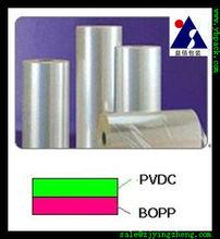 PVDC OPP for plastic packaging