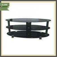 tv base unit modular tv cabinet wicker living room furniture ZL009
