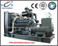 Three-phase self-exciting 450KVA(360KW) Open type ISO9001 diesel generator set