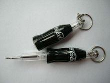 Beer Bottle Pen with Keyring