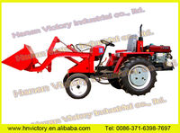 Mini High power Tractor Front wheel loader