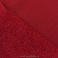 Eco-Friendly Single or Double Side Brushed Polar Fleece Clothing Lining Fabric