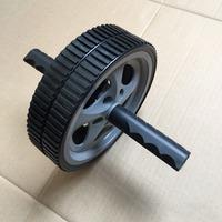 ab roller abdominal exerciser, foldable ab roller, dismountable exercise wheel