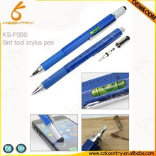 Tool Tech Pen With Screwdriver, Spirit Level And Ruler promotional pen