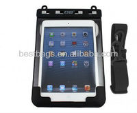 2013 Year Hot and Fashion 100% 100% Waterproof iPad mini Case with Shoulder Strap in TPU material