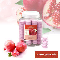 Factory Price 1000g New Fig & Pomegranate Disposable Pedicure Manicure Soak Fizzer Tablets For Foot Massage Chair