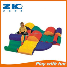 2015 new fashion sponge/PVC kids toys combination soft play