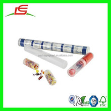 N127 Decorative Clear Plastic Round Postal Tubes To Add Instant Impact To Your Postal Campaign