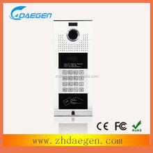 top quality convenient use enter code standby video door phone unlock