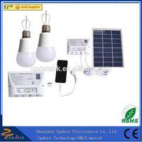 Portable Solar Powered Solar Panel Lighting Kit Solar Home DC System Kit Charger Control Box