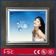 New product high brightness advertising display case