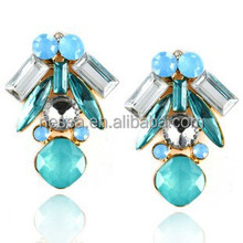 Shiny crystal traditional earring wholesale for women NSER-12938