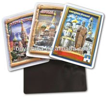 Tourist souvenirs embossed refrigeator magnet
