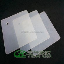 heat resistance transparent silicone rubber sheet 1mm