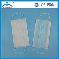 Disposable Non woven Blue eagle mask and filter from xiantao
