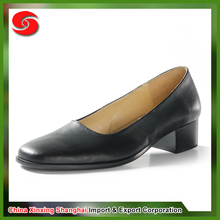 Hot sale cheap anti-abrasion flame retardant waterproof office ladies high heels