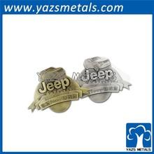 High quality metal jeep car badge