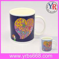 11oz Colored Ceramic Mug Company Giveaways