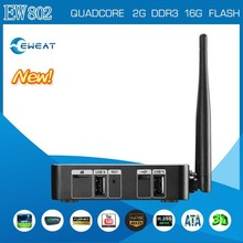 Android 4.4 Amlogic S802 Quad-Core TV BOX 2GB/16GB Google Support 2.4/5.8GHz Wifi bluetooth4.0
