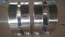 l stainless steel hollow single bolt metal clamp