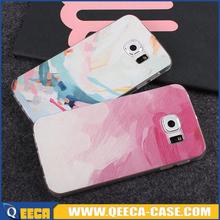 UV printing ultra soft tpu custom clear case for samsung galaxy s6 edge plus
