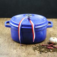 QULENO cast iron family use kitchen pot and pan sets cast iron pot