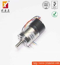 12v 3600rpm electric brushless dc worm gear motor integrated controller
