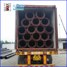 HDPE Slurry and Water Supply Pipe DN100mm-1200mm ISO9001 PE100 0.8-1.0Mpa