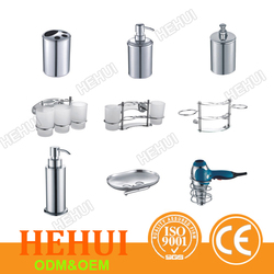 MT-M2168 7 pcs bathroom sets,bath soap bottle,aluminum bathroom sanitary fittings