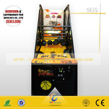 coin operated arcade basketball ,indoor amusement basketball for selll