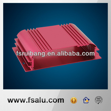 China Foshan aluminium case manufactures for car amplifier