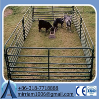 Steel bar fully welded free sample hot dipped galvanised horse fence panel